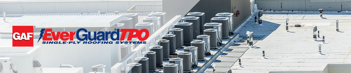 TPO Roofing System Banner